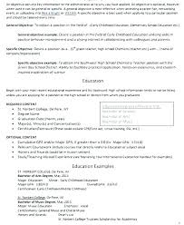 Higher Education Resume Objective Maintenance General Handyman Surprising Resumes