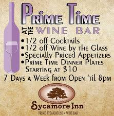 fine dining and banquets the sycamore inn