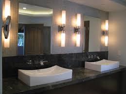 bathroom ideas modern bathroom wall sconces with raised sink