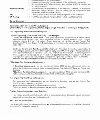 Qa Test Engineer Sample Resume Nice Software Sketch Example Of