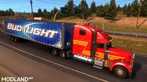 100 Bud Light Truck Beer StandAlone Trailers Mod For American Simulator