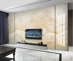 großhandel gelbe marmor wand für wohnzimmer kontakt papier gedruckte wand blättchen roll kunst wandtapeten papel de parede leinwand tapete