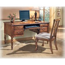 Ashley Furniture Desk And Hutch by H217 27 Ashley Furniture Home Office Leg Desk