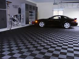 Racedeck Flooring Vs Epoxy by Selecting Garage Floor Tile Garage Flooring Llc