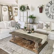 70 Elegant Modern Farmhouse Living Room Decor Ideas And
