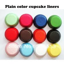 Fres Shipping 1000pcs Solid Color Standard Size Cupcake Liners Baking Paper Cups Muffin Cases Decorations