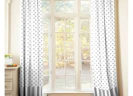 Blackout Curtain Liner Fabric by Curtains Amazing White With Grey Curtains Glansn Va Curtain