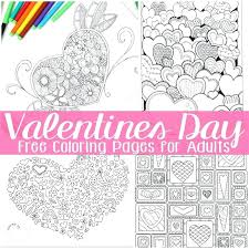 Full Image For Christian Coloring Pages Valentines Day Free Adults