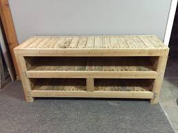 417 Best Pallet TV Stands Racks Images On Pinterest