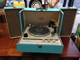 Magnavox Record Player Cabinet Value by Vintage Portable Record Players