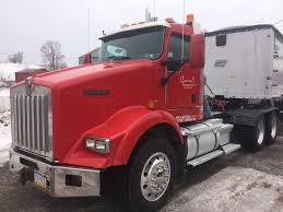 07 Kenworth T800 DayCab + 2007 EAST Frameless Dump