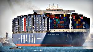 100 Shipping Container Shipping Worlds Largest Container Ship In Marseille Boat Ship