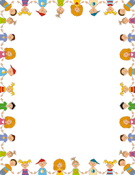 Free Children Border Templates Including Printable Paper And Clip Art Versions File Formats Include GIF JPG PDF PNG