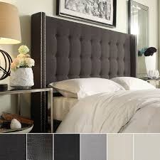 Skyline Tufted Wingback Headboard King by Best Wingback Headboard King Amazon Skyline Furniture Tufted