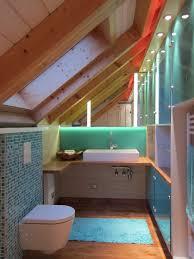bad in der dachschräge hansen innenarchitektur