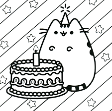 It S Here Kawaii Coloring Pages Cat Wagashiya