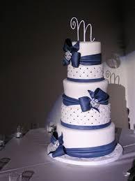 The 25 Best Navy Blue Round Wedding Cakes Ideas On Pinterest