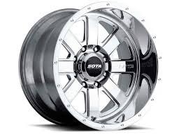 100 4x4 Truck Rims SOTA Wheels Polished AWOL 22x12 8x180 51mm Polished Aluminum
