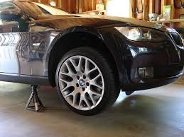 How To Safely Support Your Car On Axle Stands - MicksGarage.Com How To Replace Wheel Bearings Gmc Envoy Built To Drive Where To Use Jack And Stands 2005 Cadillac Cts Youtube Howto Front Bearing Hubs Rangerforums The Experiences With My Car Change Brake Pads Rotors On 2017 Nissan Titan Crew Cab Pickup Truck Review Price Horsepower Wkhorse Introduces An Electrick Pickup Truck Rival Tesla Wired Carbon Fiberloaded Sierra Denali Oneups Fords F150 Meet Macks 800hp Mega Crew Cab Top 25 Lifted Trucks Of Sema 2016 Hshot Trucking Pros Cons The Smalltruck Niche 3 Helpful Tips For Adjusting 4x4 Coilovers At Home Drivgline Jack Up A Big Safely Truck Edition