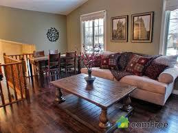 Rustic Raised Ranch Living Room Decorating Ideas