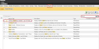 Solarwinds Web Help Desk Reports by Generate An Interface Downtime Report Solarwinds Worldwide Llc