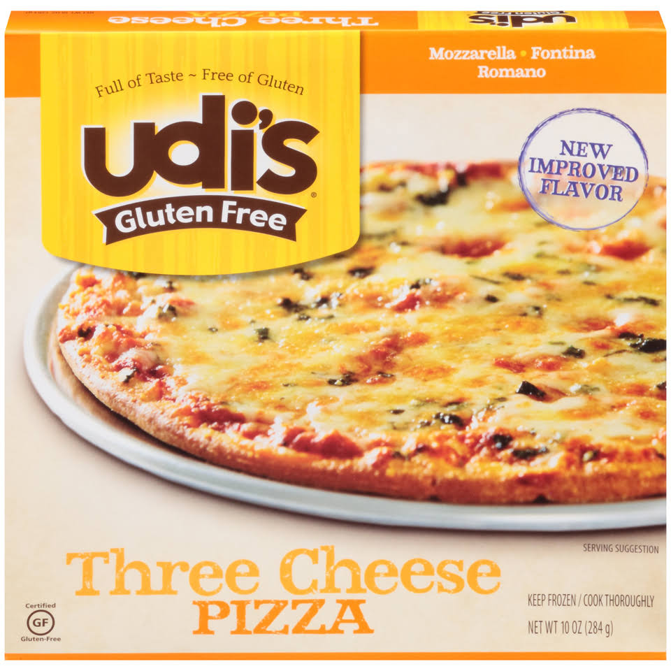 Udi's Gluten Free Three Cheese Pizza - 10oz