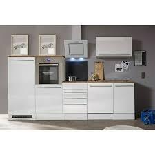 respekta premium küchenzeile berp290hwwc breite 290 cm