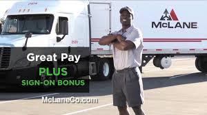 100 Mclane Trucking McLane Test2 YouTube