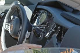 2019 Porsche 911 992 Interior Spied Shows New Steering Wheel