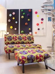 sentou canapé décoration en wax waxindeco linge de maison en wax