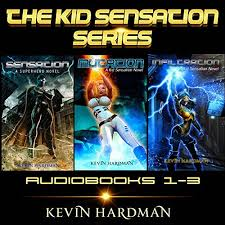 The Kid Sensation Series Books 1 3 Audiobook Cover Art