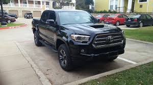 2016 All Black TRD Sport - My First Tacoma : ToyotaTacoma 2016 Toyota Tacoma Double Cab Trd Sport 4x4 Long Bed Youtube 2015 4x4 Reader Review New 2018 5 V6 At Used Sport In Truro Inventory Stuart Off Road Roseburg T18258 Scottsboro T155364 Vehicle Details At Allan Nott Honda Lima 2017 Pickup Truck Reviews And Rating Motor Trend Canada Rochester Mn Twin Cities Review Is Your Weekend Getaway Bestride