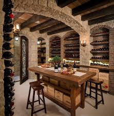 Connoisseur's Delight: 20 Tasting Room Ideas To Complete The Dream ... Home Designs Luxury Wine Cellar Design Ultra A Modern The As Desnation Room See Interior Designers Traditional Wood Racks In Fniture Ideas Commercial Narrow 20 Stunning Cellars With Pictures Download Mojmalnewscom Wal Tile Unique Wooden Closet And Just After Theater And Bollinger Wine Cellar Design Space Fun Ashley Decoration Metal Storage Ergonomic