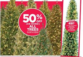 Pre Lit Pencil Cashmere Christmas Tree by Michaels Black Friday 7 Ft Pre Lit Cashmere Pencil Tree For