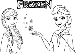 Frozen Coloring Pages Anna Page Printable Free Pdf Magic Full Size