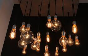 reclaimed salvaged and illuminated chandy by cassidy