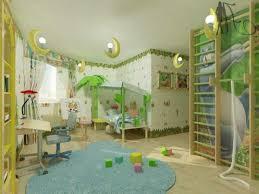 Kids Room Bedroom Glamorous Design Ideas Innovative Jungle For