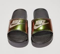 Nike Womens Benassi Iridescent JDI Slide Sandal Black Ladies Slippers Women Slides Summer Beach Indoor Outdoor New 115234