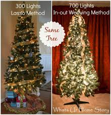 Christmas How To Hang Lights On Trees Outside House