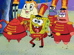 Spongebob Squarepants Dancing Excited Marching Band Spongebobsquarepants