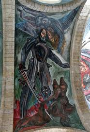 Jose Clemente Orozco Murales Hospicio Cabaas by First Meeting Three Crises Continental Drift