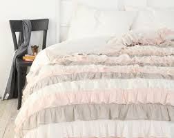 duvet Pink Bed Linen Amazing Light Pink And Grey Bedding Dusty