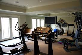 Home Gym Design With Treadmill And TV | Fbeed.com Home Gym Interior Design Best Ideas Stesyllabus A Home Gym Images About On Pinterest Gyms And Idolza Designs Hang Lcd Dma Homes 12025 70 And Rooms To Empower Your Workouts Beautiful Small Space Gallery Amazing House Nifty Also As Wells A To Decorating Equipment With Tv Fniture Top 15 In Any For Garage Exterior Gymnasium Vs