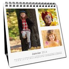 calendrier bureau calendrier de bureau personnalisé a créer avec vos photos et