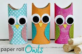 Toilet Paper Roll Owls Tutorial