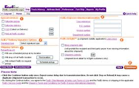 FedEx Ship Manager at fedex Quick Help Tutorial Select