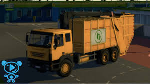 100 Garbage Truck Video Youtube TRUCKS For KIDS Crane Mllwagen Mit Kran Ariplay