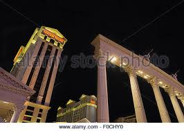 Caesars Palace Hotel Front Desk by Las Vegas Nevada Las Vegas Strip Caesars Palace Roman Statues In