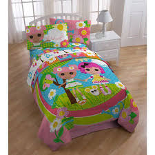 lalaloopsy twin full reversible comforter walmart com