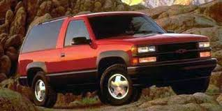Amazon 1997 Chevrolet Tahoe Reviews and Specs Vehicles